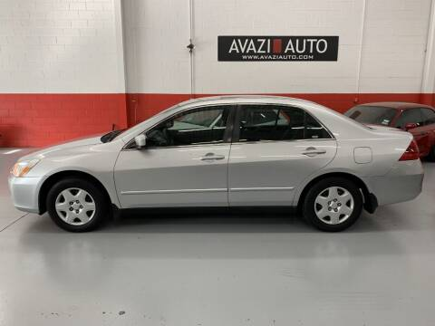 2007 Honda Accord for sale at AVAZI AUTO GROUP LLC in Gaithersburg MD