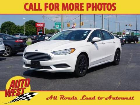 2017 Ford Fusion for sale at Autowest of Plainwell in Plainwell MI