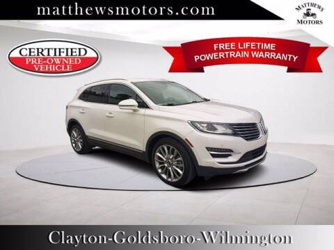 2017 Lincoln MKC for sale at Auto Finance of Raleigh in Raleigh NC