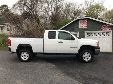 2007 GMC Sierra 1500 for sale at KMK Motors in Latham NY