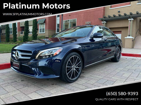 2019 Mercedes-Benz C-Class for sale at Platinum Motors in San Bruno CA