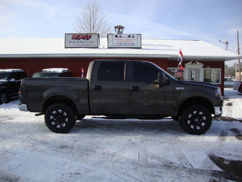 2008 Ford F-150 for sale at G and G AUTO SALES in Merrill WI