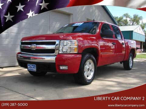 2007 Chevrolet Silverado 1500 for sale at Liberty Car Company - II in Waterloo IA