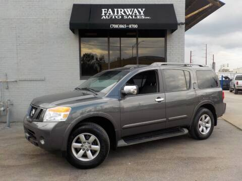 2010 Nissan Armada for sale at FAIRWAY AUTO SALES, INC. in Melrose Park IL