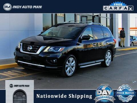 2018 Nissan Pathfinder for sale at INDY AUTO MAN in Indianapolis IN