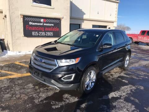 2018 Ford Edge for sale at Diamond Motors in Pecatonica IL