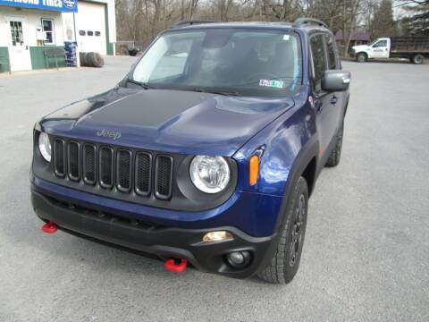 2016 Jeep Renegade for sale at WORKMAN AUTO INC in Pleasant Gap PA