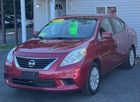 2012 Nissan Versa for sale at Landmark Auto Sales Inc in Attleboro MA