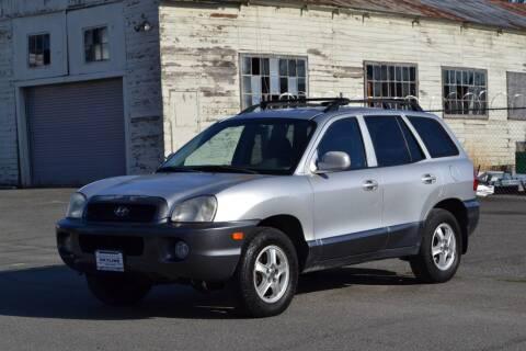 2001 Hyundai Santa Fe for sale at Skyline Motors Auto Sales in Tacoma WA