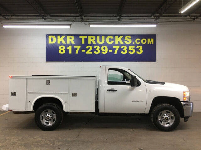 2012 Chevrolet Silverado 2500HD for sale at DKR Trucks in Arlington TX