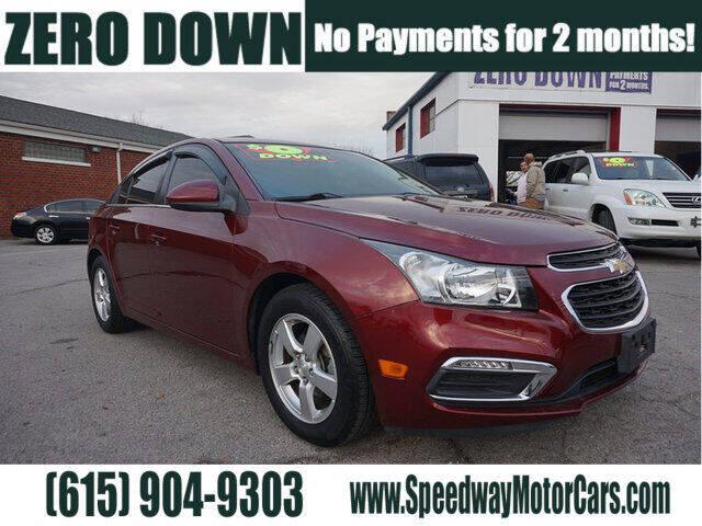 2015 Chevrolet Cruze for sale at Speedway Motors in Murfreesboro TN