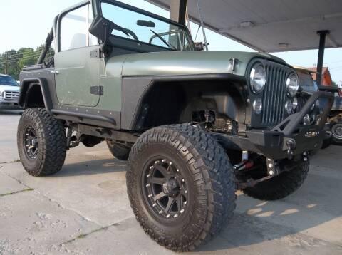 1981 Jeep CJ-7 for sale at Broken Arrow Motor Co in Broken Arrow OK