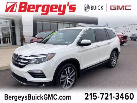 2017 Honda Pilot for sale at Bergey's Buick GMC in Souderton PA