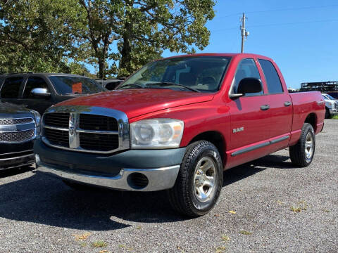 2008 Dodge Ram Pickup 1500 for sale at TINKER MOTOR COMPANY in Indianola OK