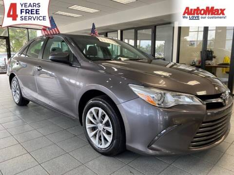 2017 Toyota Camry for sale at Auto Max in Hollywood FL