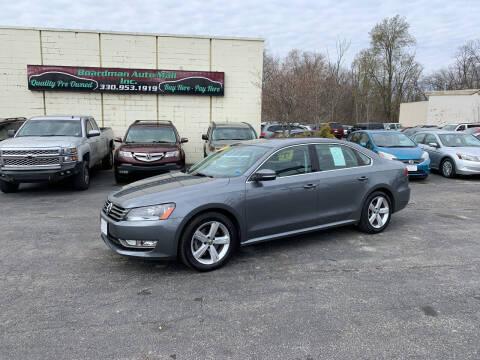 2015 Volkswagen Passat for sale at Boardman Auto Mall in Boardman OH