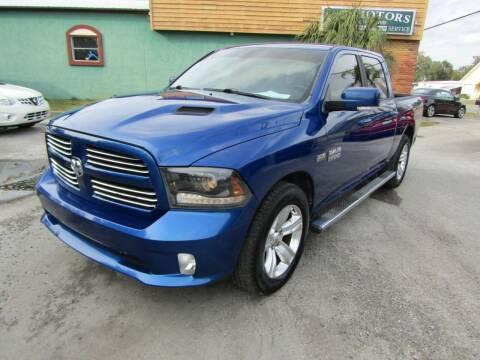 2015 RAM Ram Pickup 1500 for sale at S & T Motors in Hernando FL