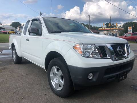 2016 Nissan Frontier for sale at Creekside Automotive in Lexington NC