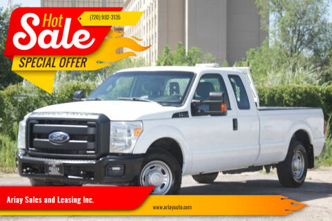 2015 Ford F-250 Super Duty for sale at Ariay Sales and Leasing Inc. - Pre Owned Storage Lot in Glendale CO