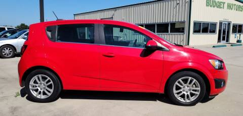 2015 Chevrolet Sonic for sale at Budget Motors in Aransas Pass TX
