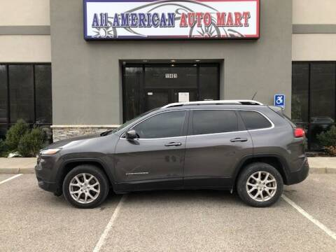 2017 Jeep Cherokee for sale at ALL AMERICAN AUTO MART in Edwardsville KS
