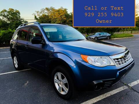 2011 Subaru Forester for sale at Ultimate Motors in Port Monmouth NJ