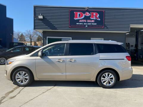 2016 Kia Sedona for sale at D & R Auto Sales in South Sioux City NE