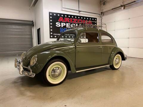 1957 Volkswagen Beetle for sale at Arizona Specialty Motors in Tempe AZ