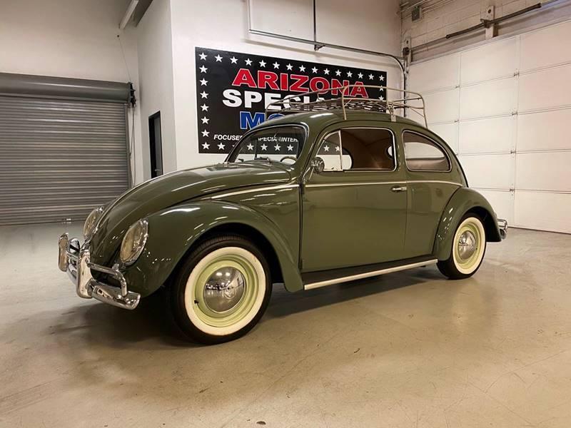 1957 Volkswagen Beetle for sale at Arizona Specialty Motors in Tempe AZ