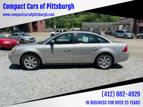 2006 Ford Five Hundred for sale at Compact Cars of Pittsburgh in Pittsburgh PA