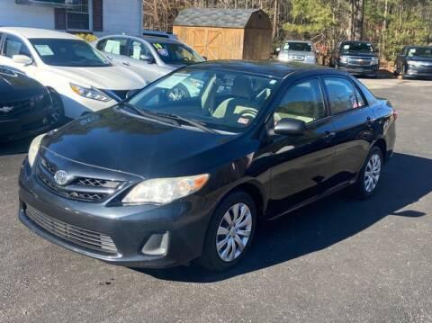 2012 Toyota Corolla for sale at Star Auto Sales in Richmond VA