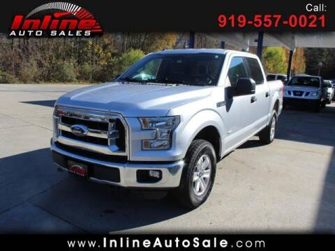 2016 Ford F-150 for sale at Inline Auto Sales in Fuquay Varina NC