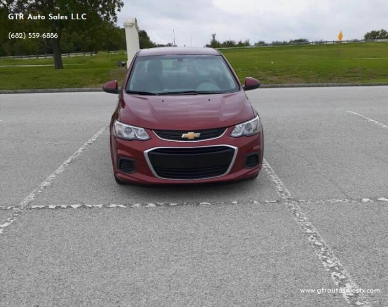 2019 Chevrolet Sonic for sale at GTR Auto Sales LLC in Haltom City TX