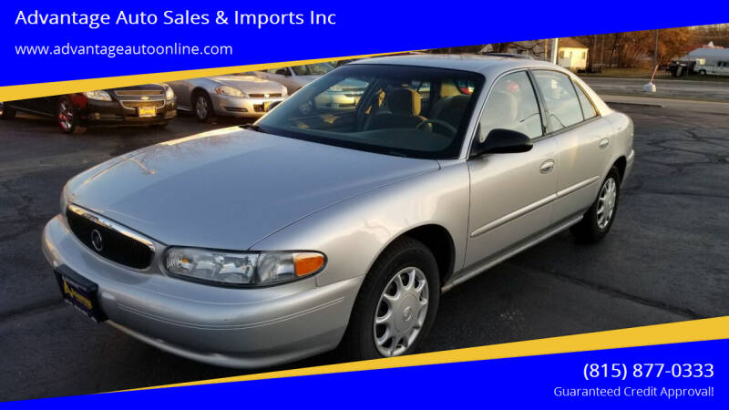 2004 Buick Century for sale at Advantage Auto Sales & Imports Inc in Loves Park IL