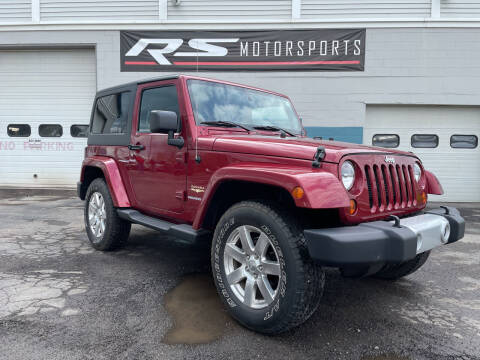 2013 Jeep Wrangler for sale at RS Motorsports, Inc. in Canandaigua NY