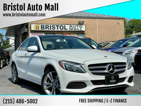 2015 Mercedes-Benz C-Class for sale at Bristol Auto Mall in Levittown PA