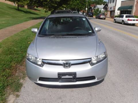 2007 Honda Civic for sale at ALL Auto Sales Inc in Saint Louis MO