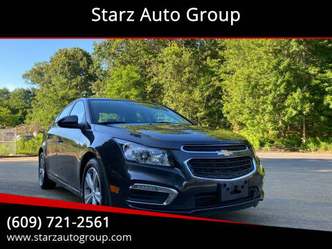 2015 Chevrolet Cruze for sale at Starz Auto Group in Delran NJ