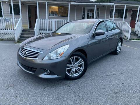 2010 Infiniti G37 Sedan for sale at Georgia Car Shop in Marietta GA