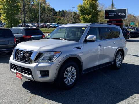 2017 Nissan Armada for sale at Midstate Auto Group in Auburn MA
