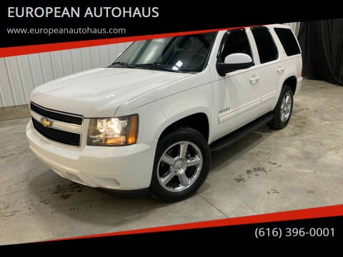 2011 Chevrolet Tahoe for sale at EUROPEAN AUTOHAUS in Holland MI