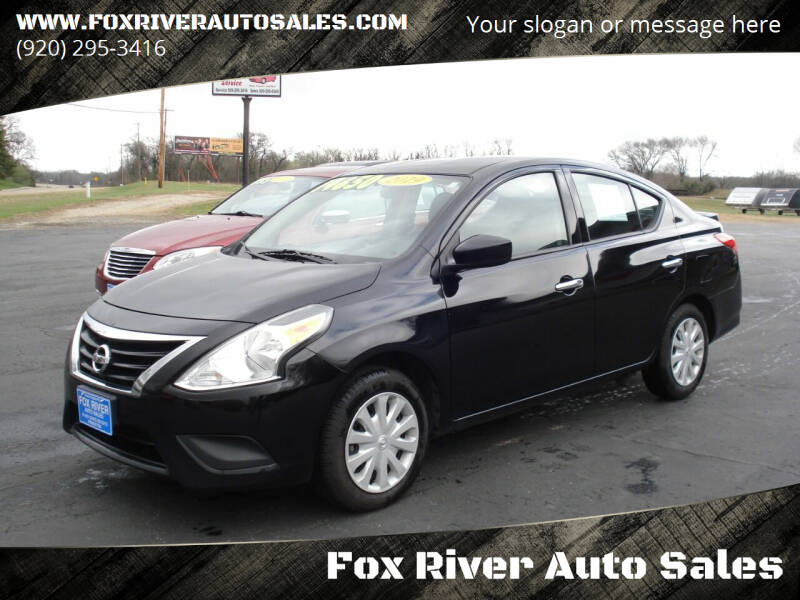 2019 Nissan Versa for sale at Fox River Auto Sales in Princeton WI