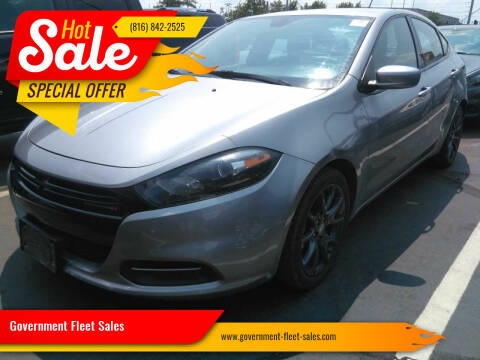 2016 Dodge Dart for sale at Government Fleet Sales in Kansas City MO