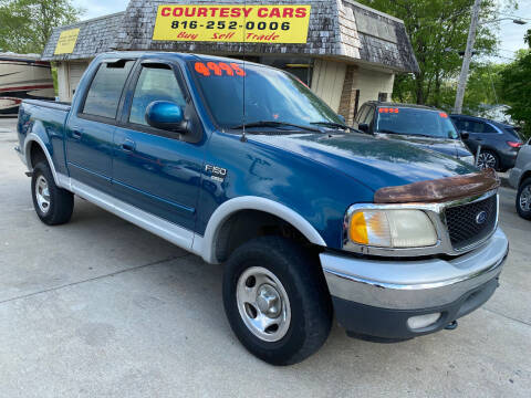 2001 Ford F-150 for sale at Courtesy Cars in Independence MO