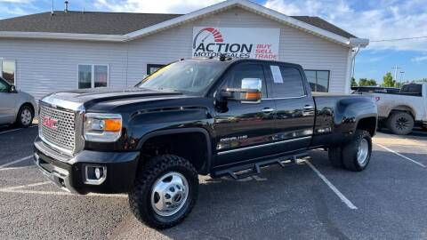 2015 GMC Sierra 3500HD for sale at Action Motor Sales in Gaylord MI