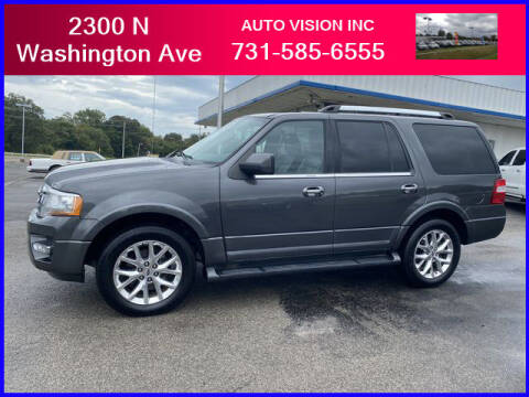 2017 Ford Expedition for sale at Auto Vision Inc. in Brownsville TN
