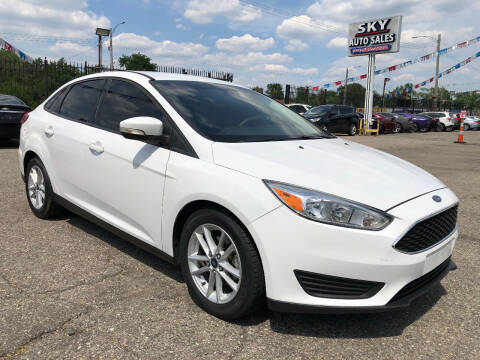 2017 Ford Focus for sale at SKY AUTO SALES in Detroit MI