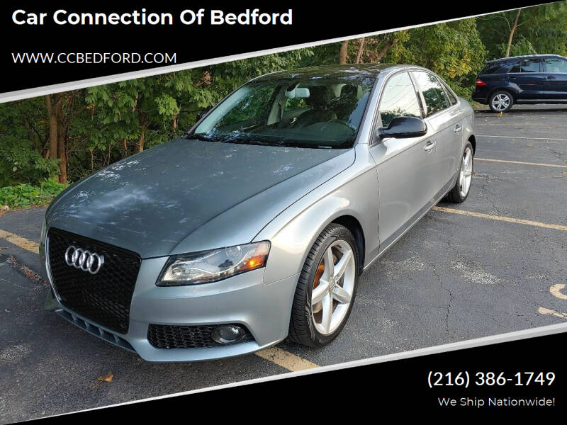 2011 Audi A4 for sale at Car Connection of Bedford in Bedford OH