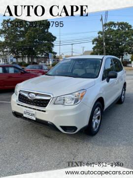 2014 Subaru Forester for sale at Auto Cape in Hyannis MA