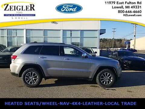 2015 Jeep Grand Cherokee for sale at Zeigler Ford of Plainwell- Jeff Bishop in Plainwell MI